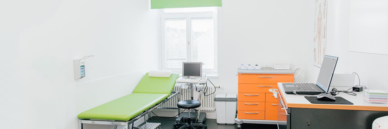 Gefäßmedizin und Gefäßchirurgie Aachen - Dr. Hoff - Behandlungszimmer